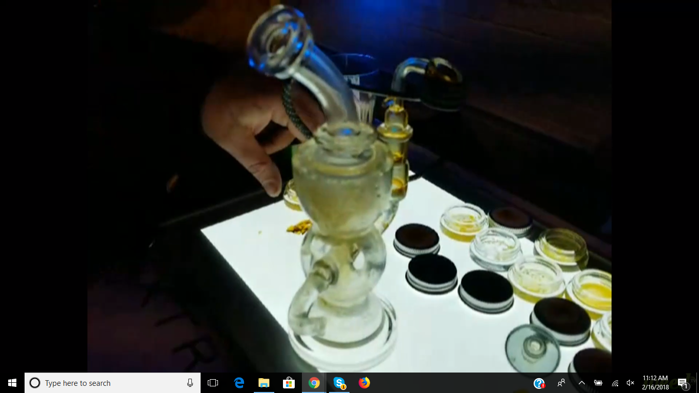 First Live Dab on WeedTV!